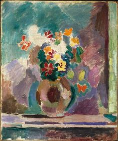 Henri Matisse, Flowers, 1906. Richmond Virginia Museum of Fine Art exhibit June 2015.
