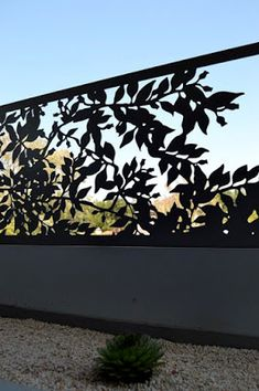balcony privacy screen screen out nosy neighbours with stylish privacy screens from Entanglements metal art! Image courtesy of Lifestyle indesign studio Laser Cut Screens, Laser Cut Panels, Laser Cut Metal, Privacy Screen Outdoor, Privacy Screens, Window Privacy Screen, Outdoor Fencing, Balcony Privacy, Privacy Walls