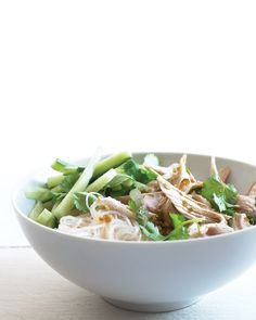 Asian Noodle Salad with Chicken and Cilantro from Martha Stewart