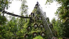 Montana Magica Lodge in Huilo-Huilo, Chile