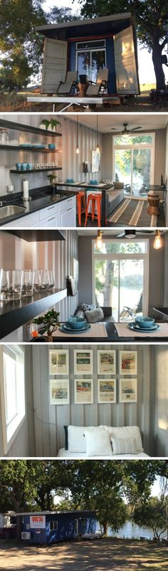 40′ MODERN SHIPPING CONTAINER HOME