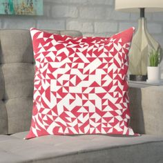 Found it at Wayfair - Sersic 100% Cotton Throw Pillow Cover