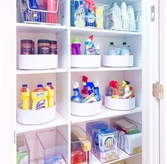 Being mindful of what you have stored will help you keep your system in place. Amazing organization from theprojectneat .