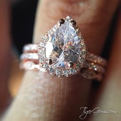 Follow @tigergemstones and Tag a Friend who would love this rose pear halo stack! ━❤️━ Follow @tigergemstones Follow @tigergemstones Follow @tigergemstones ━━ Shop now at TigerGems.com ━✨━ #wedding #weddinginspiration #engagementring #vintagestyle #engagement #louboutin #roses #bride #weddingseason #tattoo #nails #bridesmaid #brides #weddingphotographer #wife #weddings #sandiego #balayage #bridetobe #bling #wifey #weddingdress #weddingphotography #nailart #mua #ring #powercouple #rings…