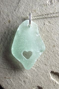 i love beach glass, beach glass with hearts...amazing.