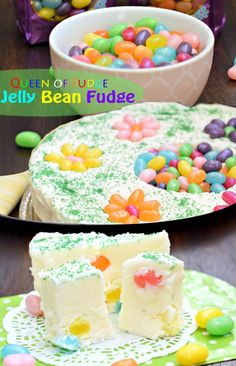 Jelly Bean Fudge is Christmas special idea and best snacks for wintertime.....