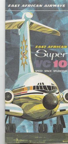 East African Airways Brochure 1960s