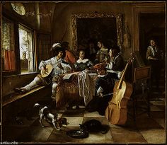 Jan Steen, Family Concert