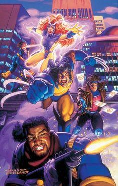 X-Men by Greg & Tim Hildebrandt