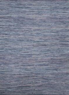Cotton Material carpet in Blue color