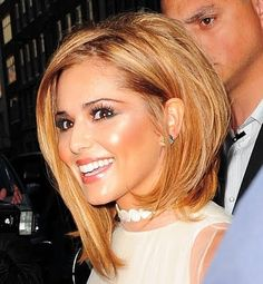 Cheryl Coles's hair. Love this