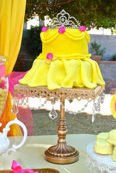 Beauty and the Beast Birthday Party Ideas Princess belle party