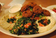 Falafel. Vegetarian food