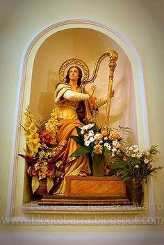 Santa Cecilia patrona de la música