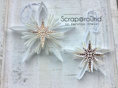 Deko Sterne mit Stampin' Up! - ganz einfach nachzubasteln, Anleitung dazu ist auf dem Blog :-)  www.scraparound.de