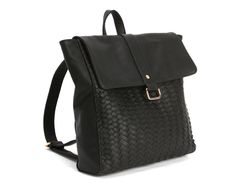 Deux Lux Mulberry Boxy Backpack in black