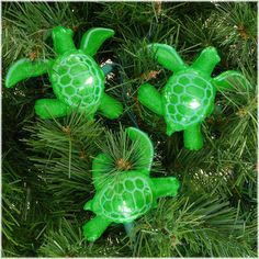 10 Green Sea Turtle Light Set