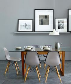 Dining Room Decor Gray williamsburg® collection | contemporary style, room and black