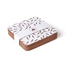 Irish gift shop | Windswept Hawthorn Tree Coasters | Sealed with Irish love White Coasters, Tree Designs, Irish, Decorative Boxes, My Love, Ireland, Prints, Shopping, Gift