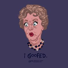 """""""I Goofed"""" Aunt Clara from Bewitched by Ray Caspio Bewitched Tv Show, Lola Albright, Bewitched Elizabeth Montgomery, Erin Murphy, Agnes Moorehead, I Dream Of Jeannie, Vintage Television, Film Music Books, New Shows"""