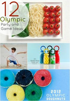 Throw an Olympic Party — 12 party, games and food ideas! Olympic Idea, Olympic Games, Olympic Village, Party Entertainment, Childrens Party, Party Games, Party Planning, More Fun, Party Ideas