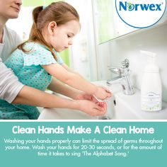 Where have your hands been? Throughout the day, we touch many objects including some real #germ hotspots, such as computers, cell phones, doorknobs, restaurant menus, and gas pumps. Washing your hands properly can limit the spread of germs throughout your home. #Norwex