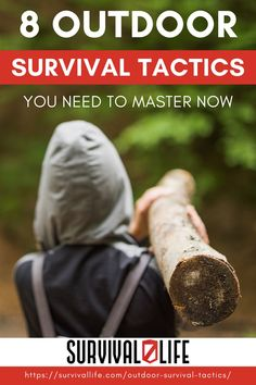 Think you know how to survive in the wilderness? Sorry to break it to you, but going camping or hunting a few times, or getting some badges in the Boy Scouts doesn't mean you are ready to SURVIVE. Here are the 8 outdoor survival tactics you need to master now if you want to come out alive. #survivallife #survival #preparedness #survivalist #prepper #camping #outdoors #spring #outdoorsurvival #survivalskill Survival Life Hacks, Camping Survival, Outdoor Survival, Survival Tips, Survival Skills, Emergency Preparation, Emergency Preparedness, The More You Know, Good To Know