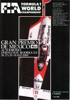1989 GP de México en Ciudad de México
