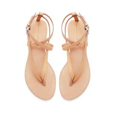 Zara Basic Thong Sandals