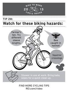 Bike to Work Tip #2