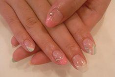 stripe french nail