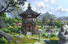 Oriental, Lee b on ArtStation at https://www.artstation.com/artwork/XGRoa