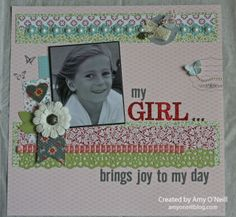 2 Page Scrapbook Layouts | Scrapbook Pages