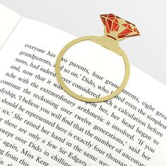 This regal bookmark that will definitely make you want to read more. | 21 Things You'll Want If You Love Being Fancy
