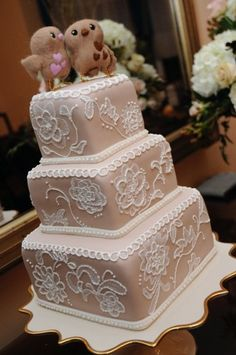 Our wedding cake <3 #wedding #cake - The Cake Studio in Dupont, PA