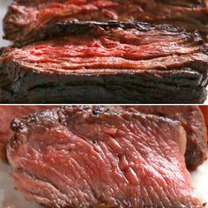 Featuring Easy Flap Steak and Gourmet Rib Eye Steak Grilling Recipes, Beef Recipes, Cooking Recipes, Cooking Videos Tasty, Easy Steak Recipes, Flap Steak, Healthy Recipes, Snacks Recipes, Recipes Dinner