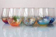 DIY Colorful Vase Decor