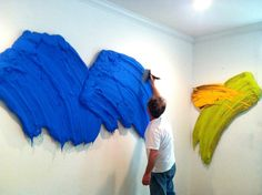 Artwork by Donald Martiny Canvas Collage, Modern Art, Contemporary Art, Artistic Installation, Texture Painting, Art And Architecture, Artist At Work, Art Blog, Painting Inspiration