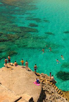 Mallorca  cala,  Baleares. Spain #Beautiful #Spain #photography