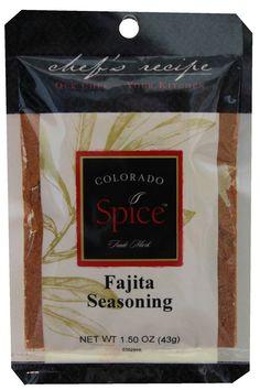 Fajita Seasoning adds the perfect southwest flavor to your beef fajitas