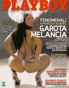 - Andressa Soares Garota Melancia - Playboy (Junho) 2008
