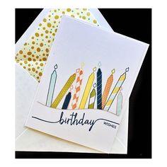 Happy Birthday @sandinew #papertreyink #denimandinkcards #cards #diy