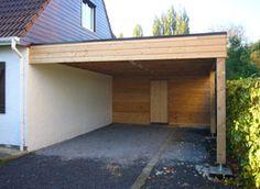 Carport Adossé, Facade, Garage Doors, Exterior, Architecture, Outdoor Decor, Home Decor, Container, Modern Carport