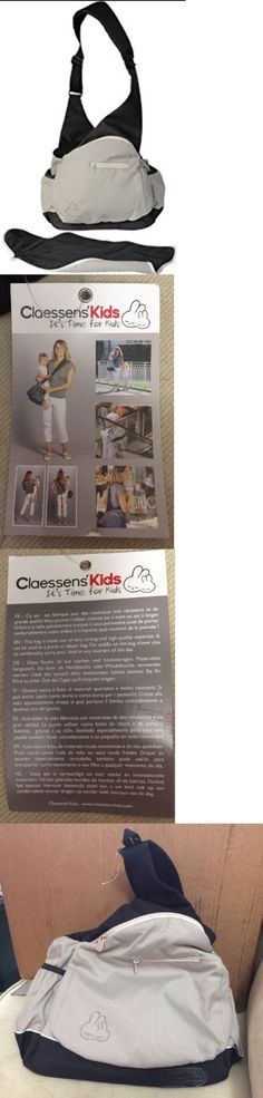 Baby: Claessens Kids 2 In 1 Diaper Bag And Baby Carrier Assisted Bag Nwt BUY IT NOW ONLY: $32.95