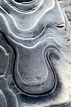 Photographing Abstract Macro Ice Images