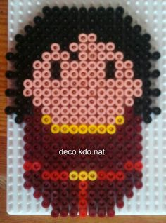 Mother Gothel - Tangled hama perler beads by Deco.Kdo.Nat