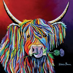 Lizzie McCoo by Steven Brown is printed with premium inks for brilliant color and then hand-stretched over museum quality stretcher bars. 60-Day Money Back Guarantee AND Free Return Shipping.