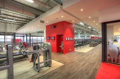 JUMBO Board used for ceilings and partitioning at Virgin Active Ballito supplied by Pelican Systems