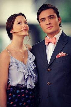 One of my favourite on-screen couples Blair & Chuck Bass