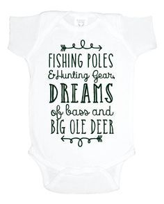 4e3913f41 Hunting and Fishing baby one piece, baby shower gift, southern baby boy  bodysuit, gift under 20, toddler shirt, fishing poles, hunting gear